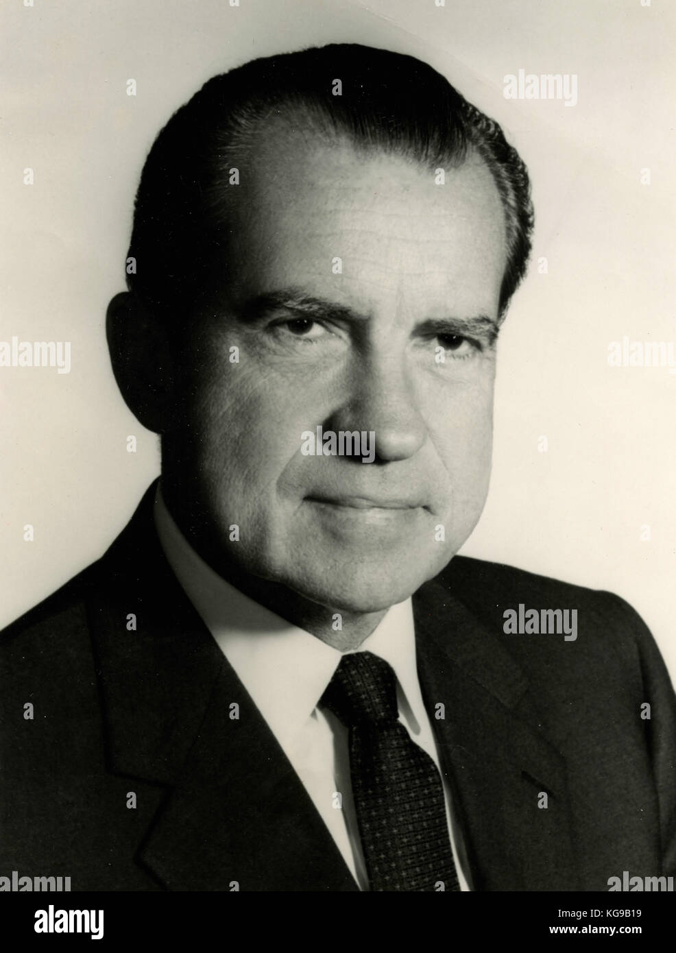 37th USA President Richard Nixon - Stock Image