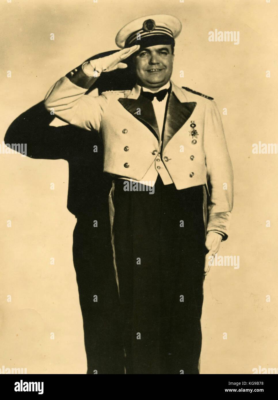 Kapt. Mario Maris  - Die Mysteriose Flote - Stock Image