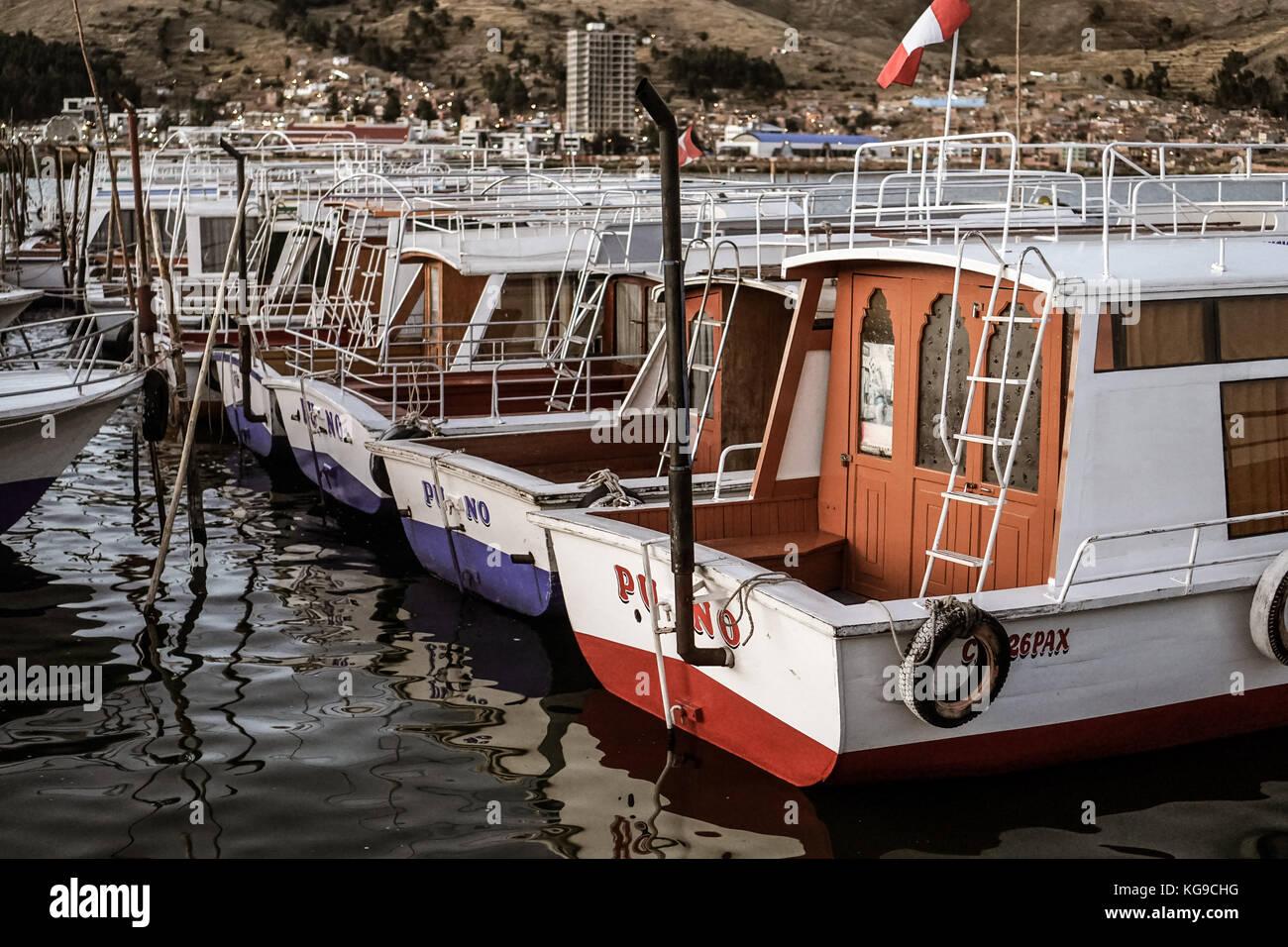 Lake Titikaka - Stock Image