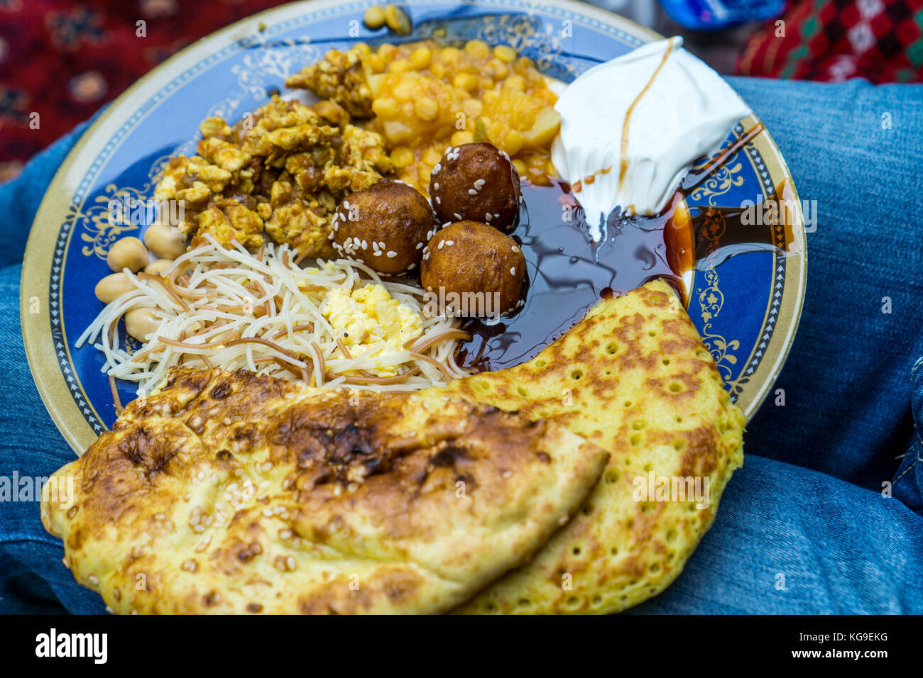 Cultural Breakfast/Lecture - Stock Image