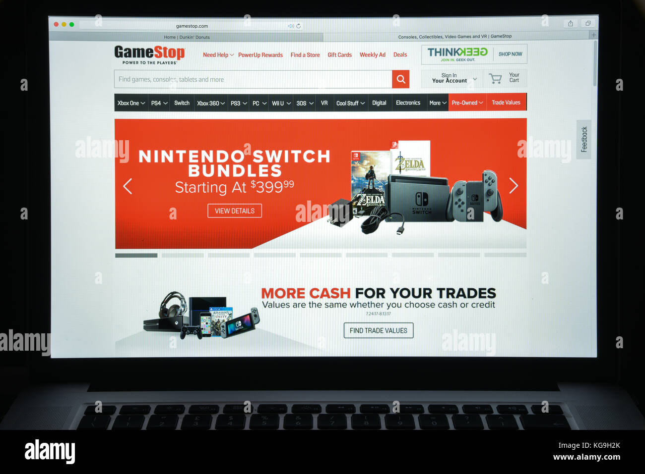 Shop GameStop, the world's largest retail gaming destination for Xbox One X, PlayStation 4 and Nintendo Switch games, systems, consoles & accessories. Shop a wide selection of gamer-centric apparel, collectibles & more.