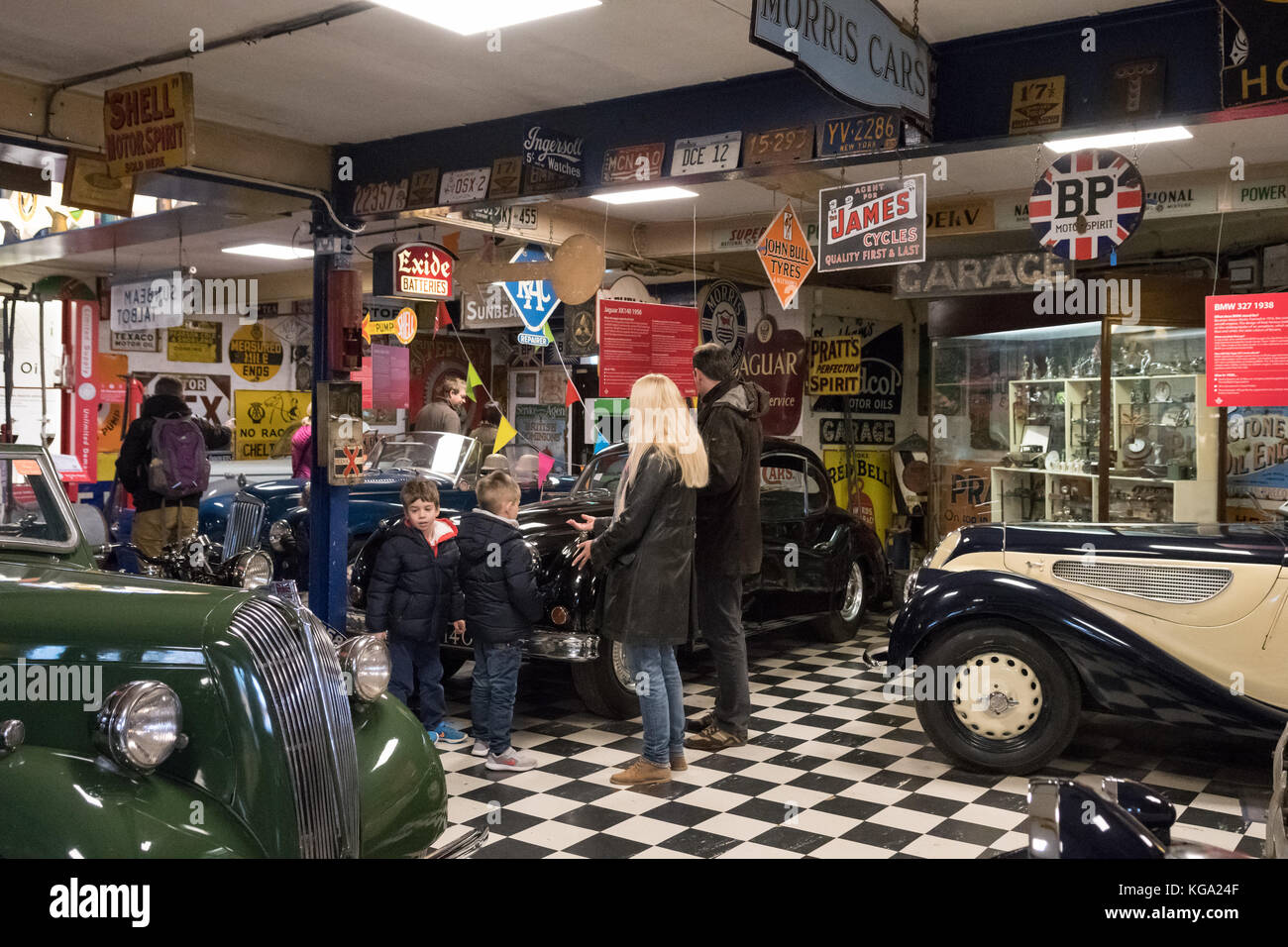 The Cotswold Motoring Museum & Toy Collection, Bourton on the Water, Gloucestershire, England, UK - Stock Image