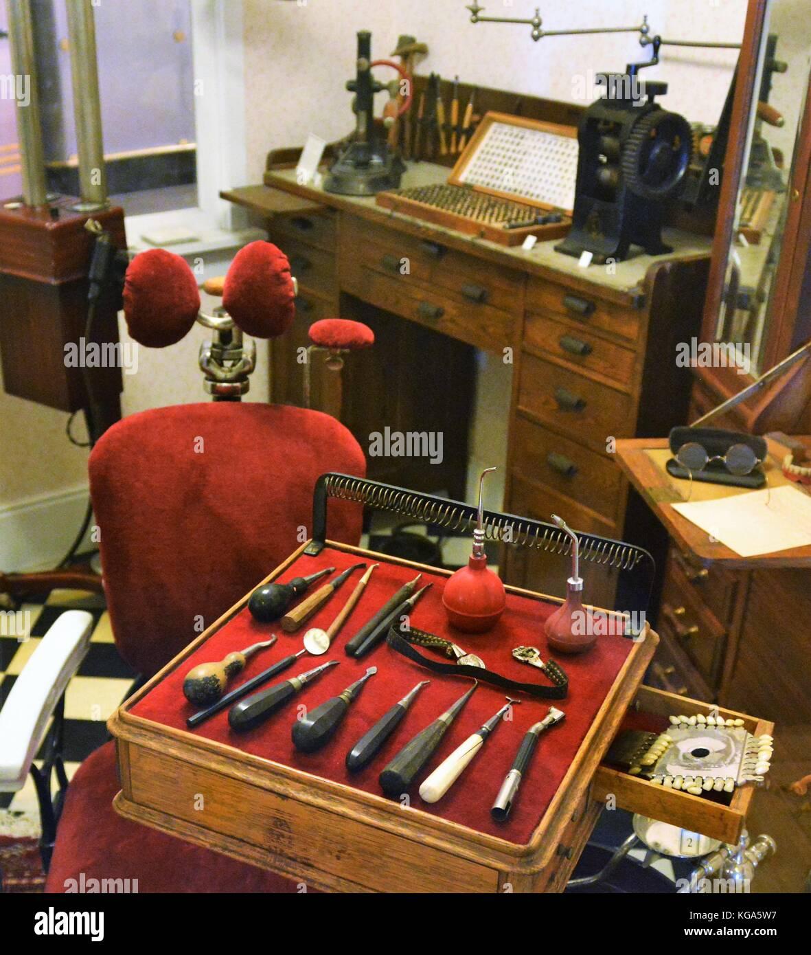 Vintage Dentist Office - Stock Image