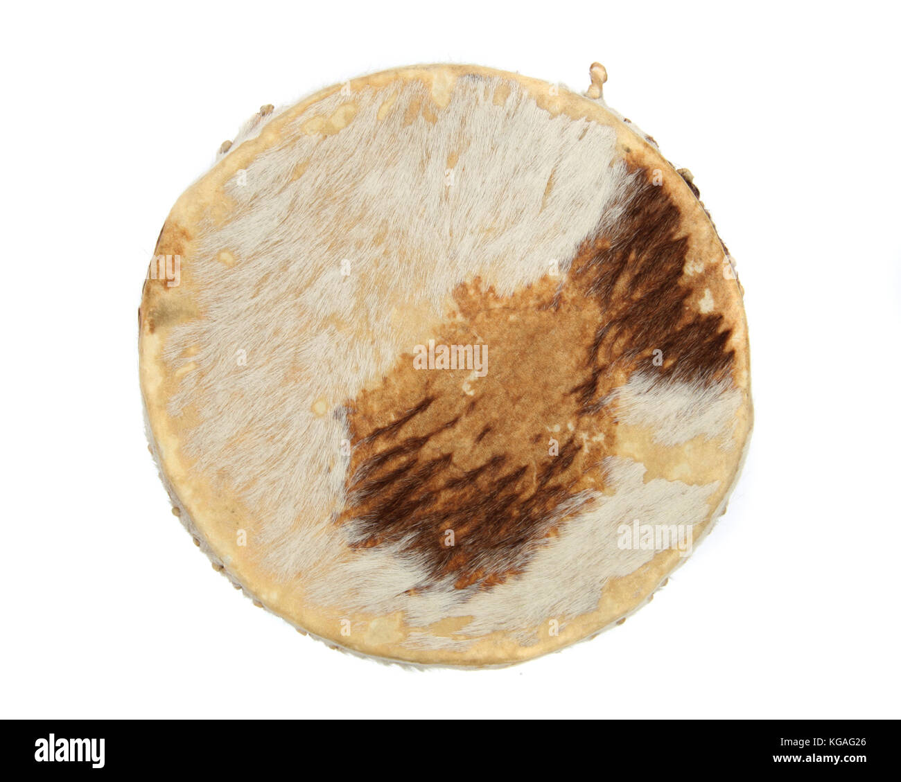 An African Drum - Stock Image