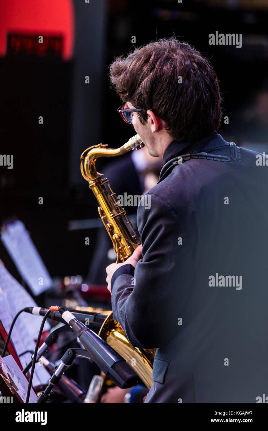 Saxophonist Saxophone Stock Photos & Saxophonist Saxophone