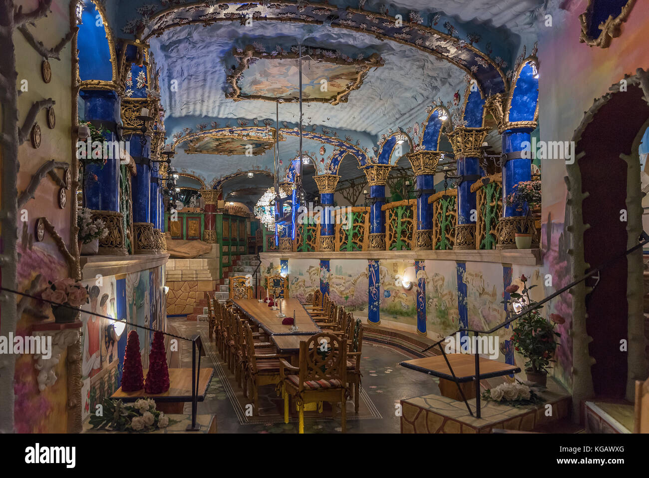 Sala del Monte im Montagnetto der Iserhatsche in Bispingen. Ein ganz besonderer Festsaal mit wunderschönen - Stock Image