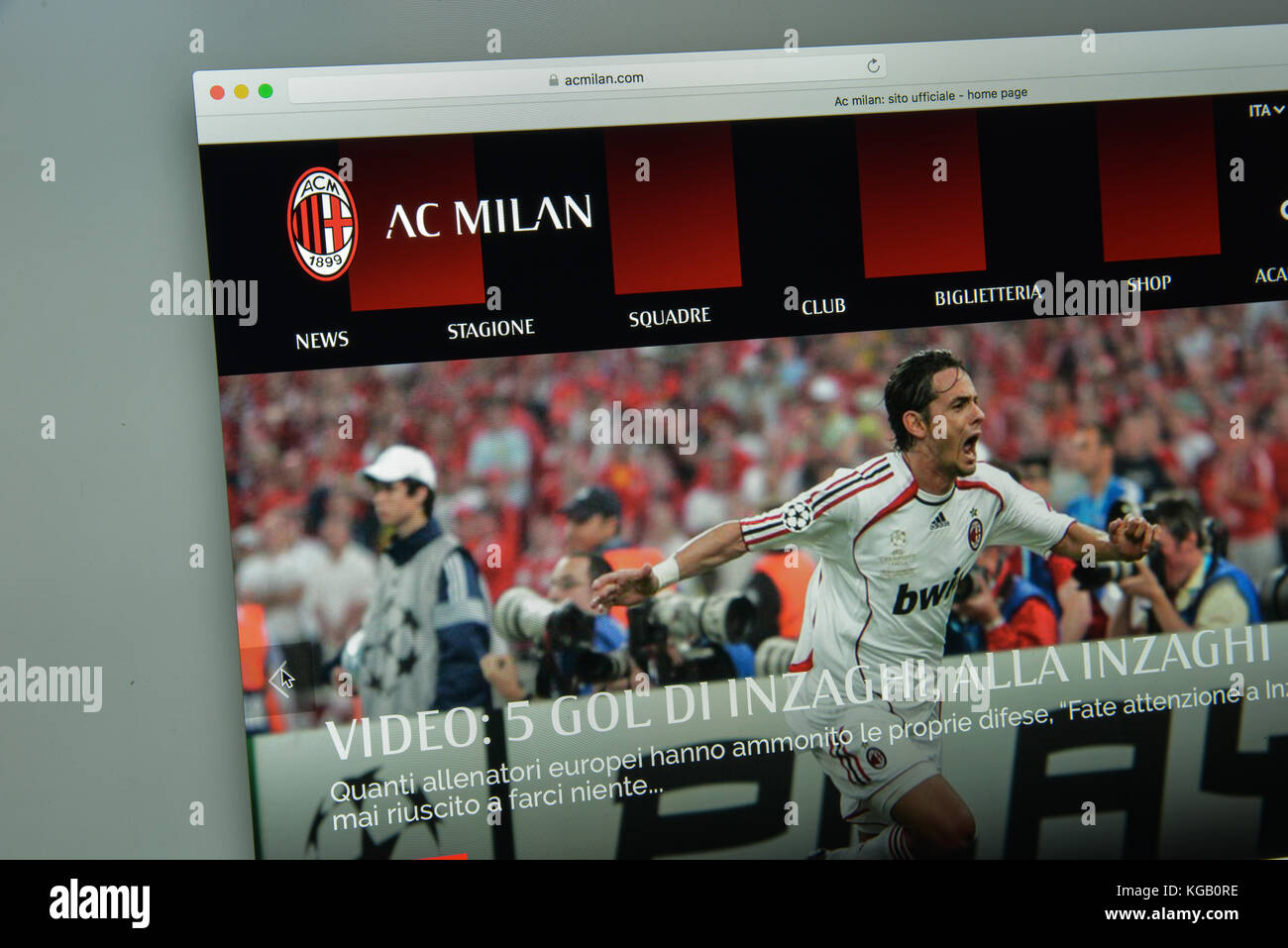 Milan Official High Resolution Stock Photography and Images - Alamy