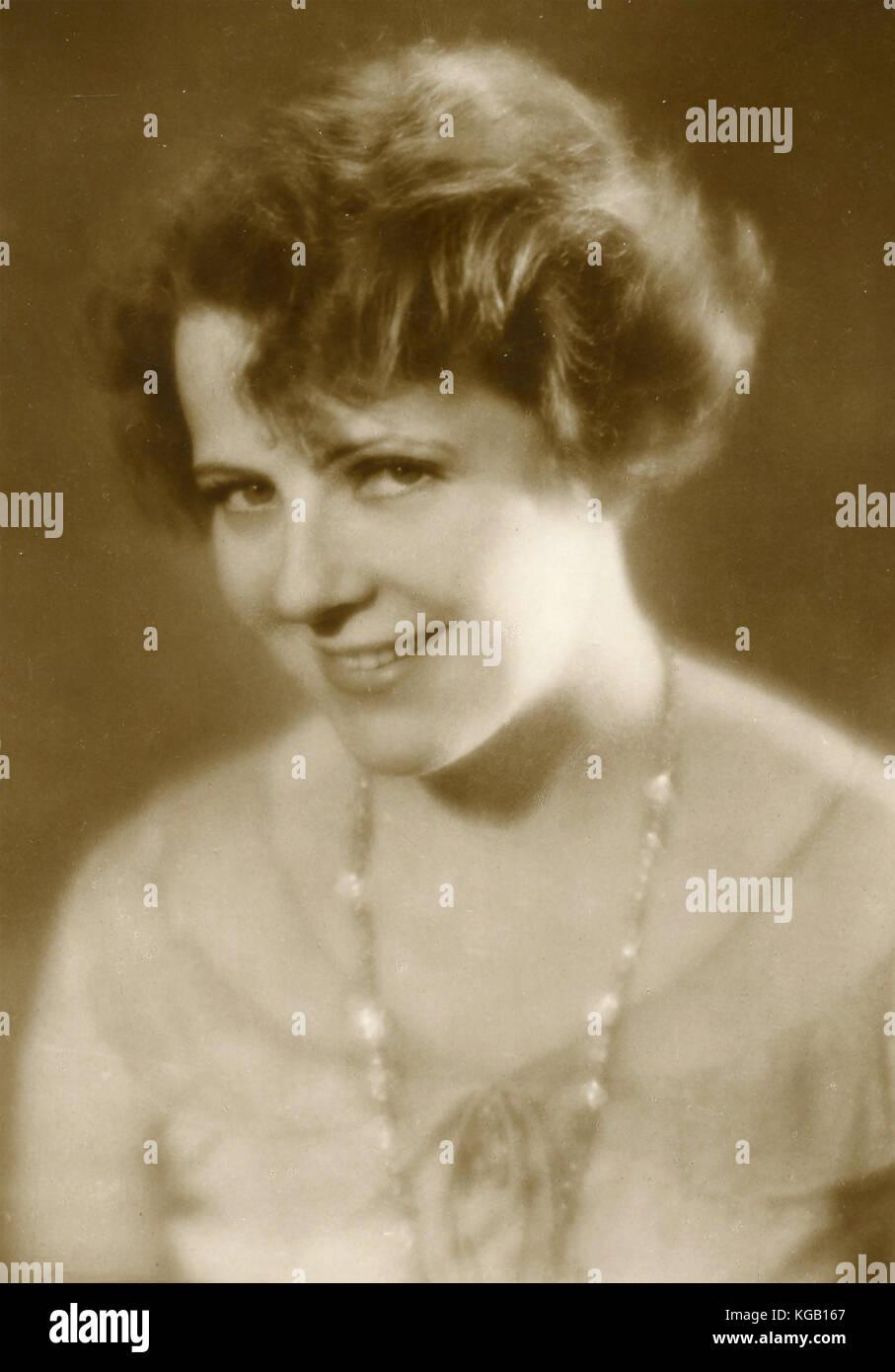 Austrian actress Mady Christians - Stock Image