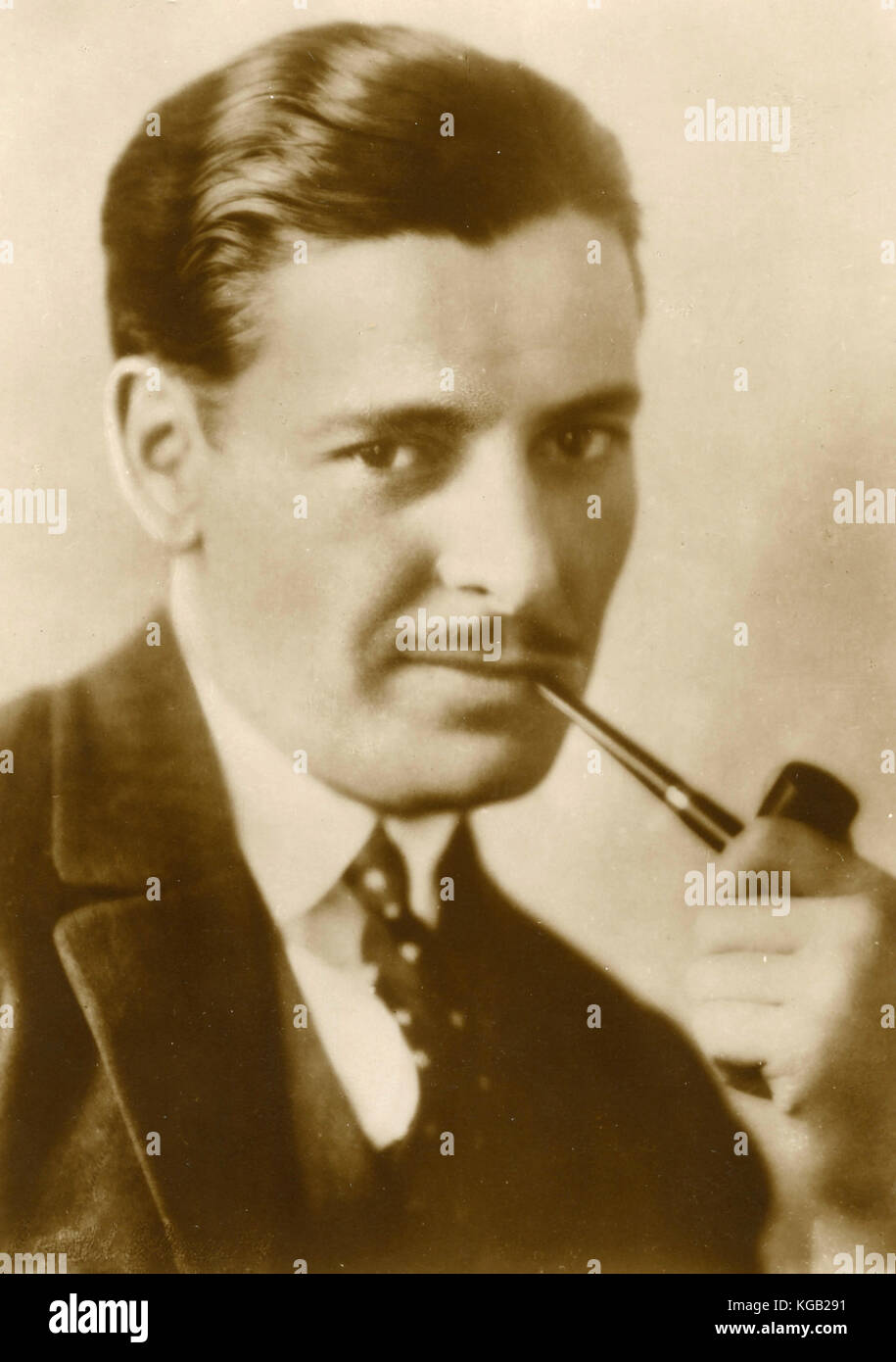 English actor Ronald Colman - Stock Image