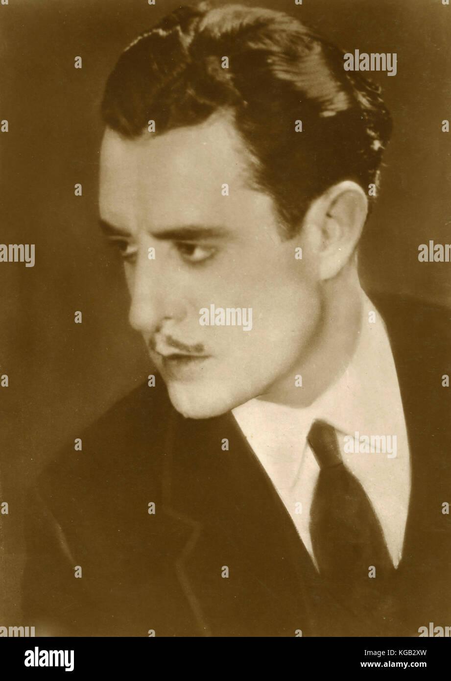 American actor John Gilbert - Stock Image