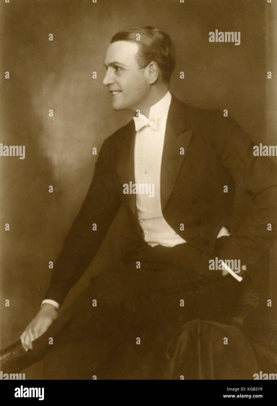 British actor Henry Stuart - Stock Image