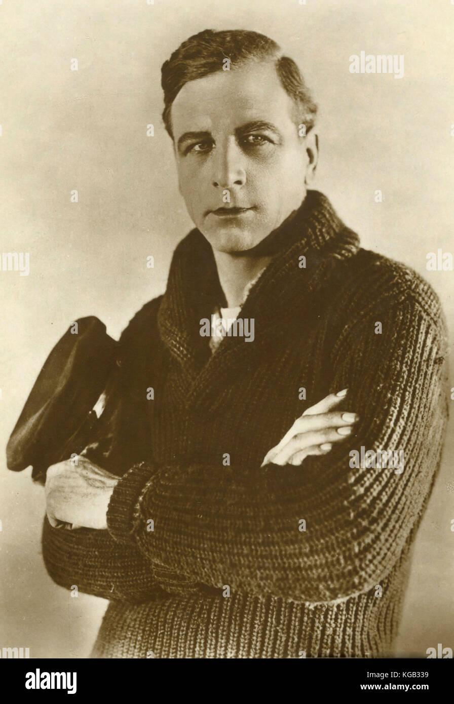 American actor Milton Sills - Stock Image