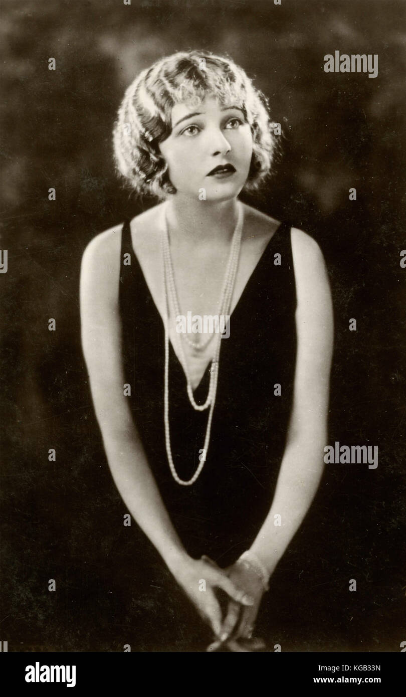 American actress Corinne Griffith - Stock Image