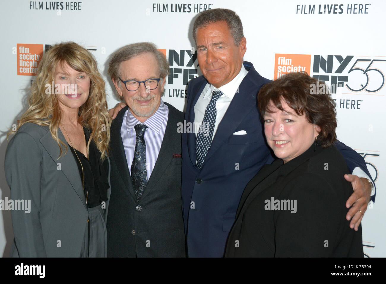 55th New York Film Festival Spielberg Premiere At Alice Tully