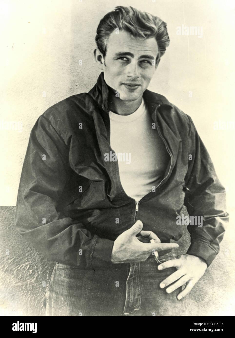 American actor James Dean - Stock Image