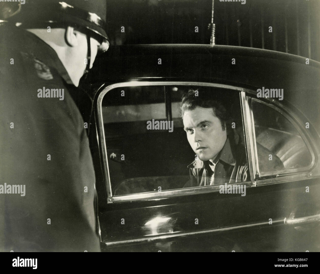 Unidentified movie - Stock Image