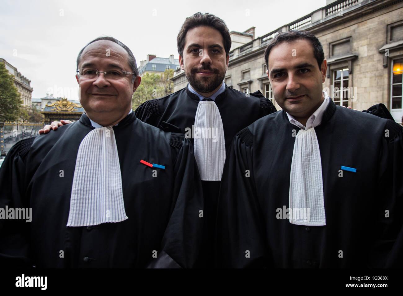 Sadak Souici / Le Pictorium -  Trial Merah, Masters Ariel Goldmann, Patrick Klugman and Elie Korchia -  02/11/2017 - Stock Image
