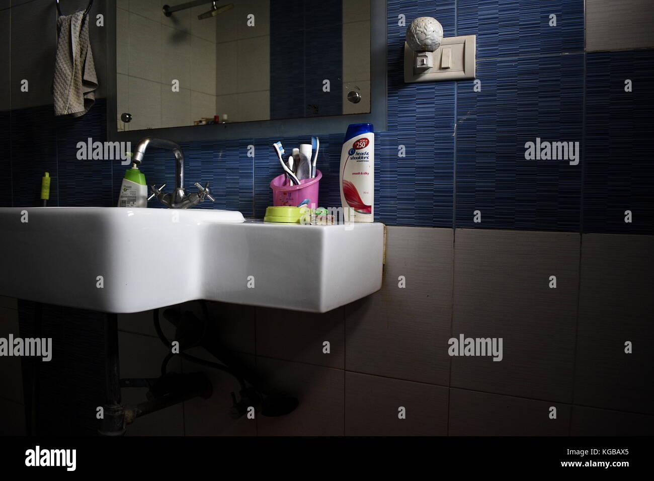 Twilight....in a bath - Stock Image