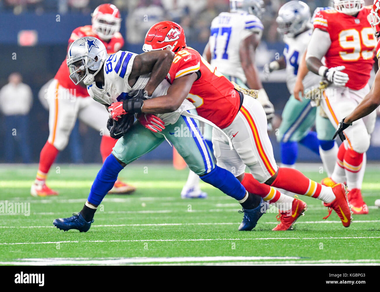 November 05 2017 Dallas Cowboys Wide Receiver Dez Bryant