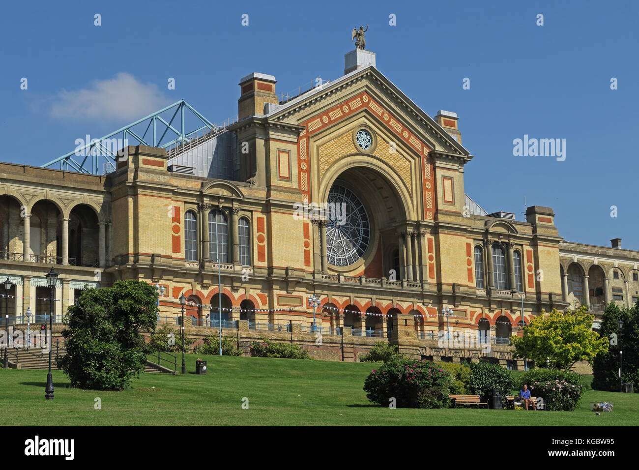 Alexandra Palace  Alexandra Park, Wood Green, Haringey, London       May - Stock Image
