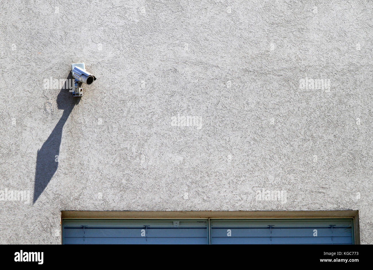 CCTV security camera on building Stock Photo