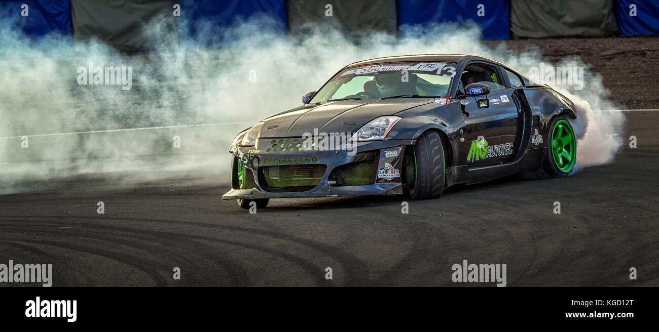 SDC Scottish Drift Championship - Stock Image
