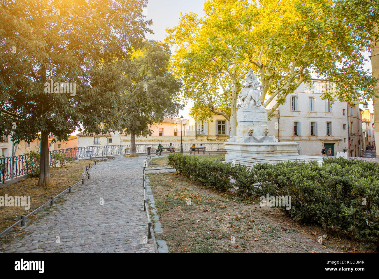 Montpellier city in France Stock Photo