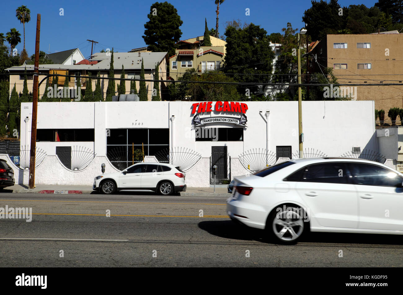 The Camp Transformation Center on West Sunset Boulevard in Silver Lake, Los Angeles, California USA    KATHY DEWITT - Stock Image