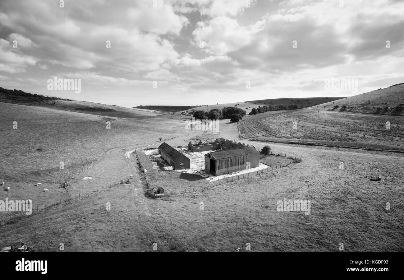Farm Buildings - Stock Image