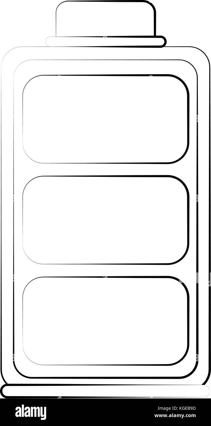 Full battery symbol Stock Vector Art & Illustration, Vector Image ...