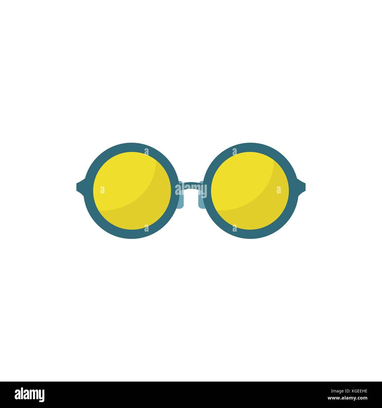 Stylish Eyeglasses - Stock Vector