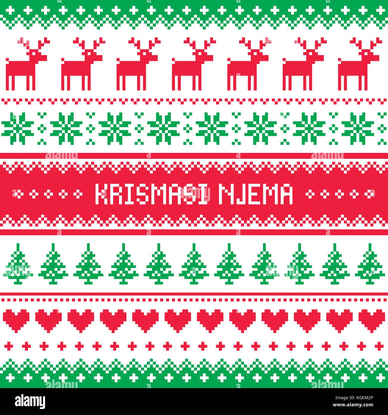 Swahili language stock photos swahili language stock images alamy krismasi njema vector greeting card merry christmas pattern in swahili african language stock m4hsunfo