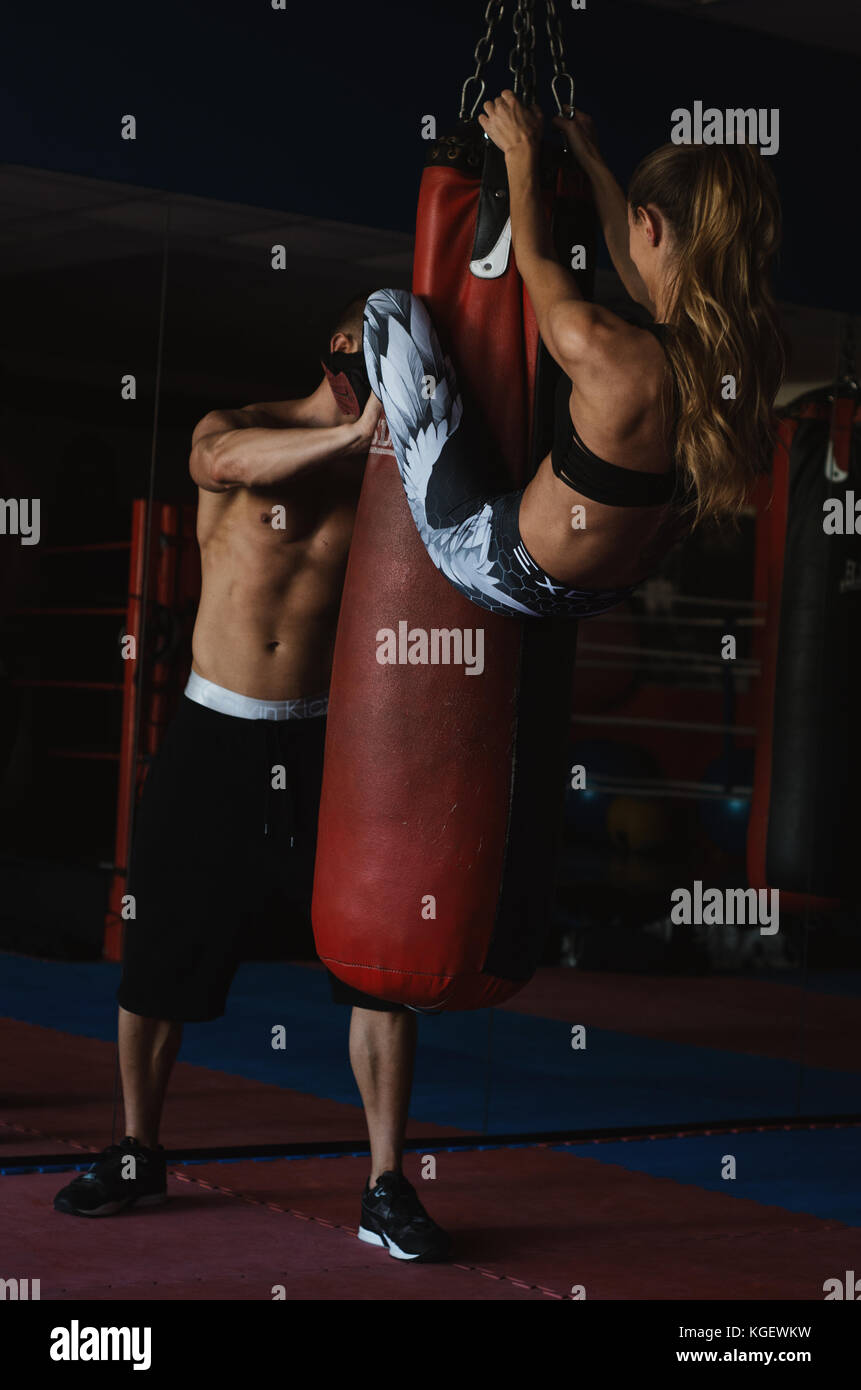 Workout / Fitness / Models - MikePrime - Stock Image