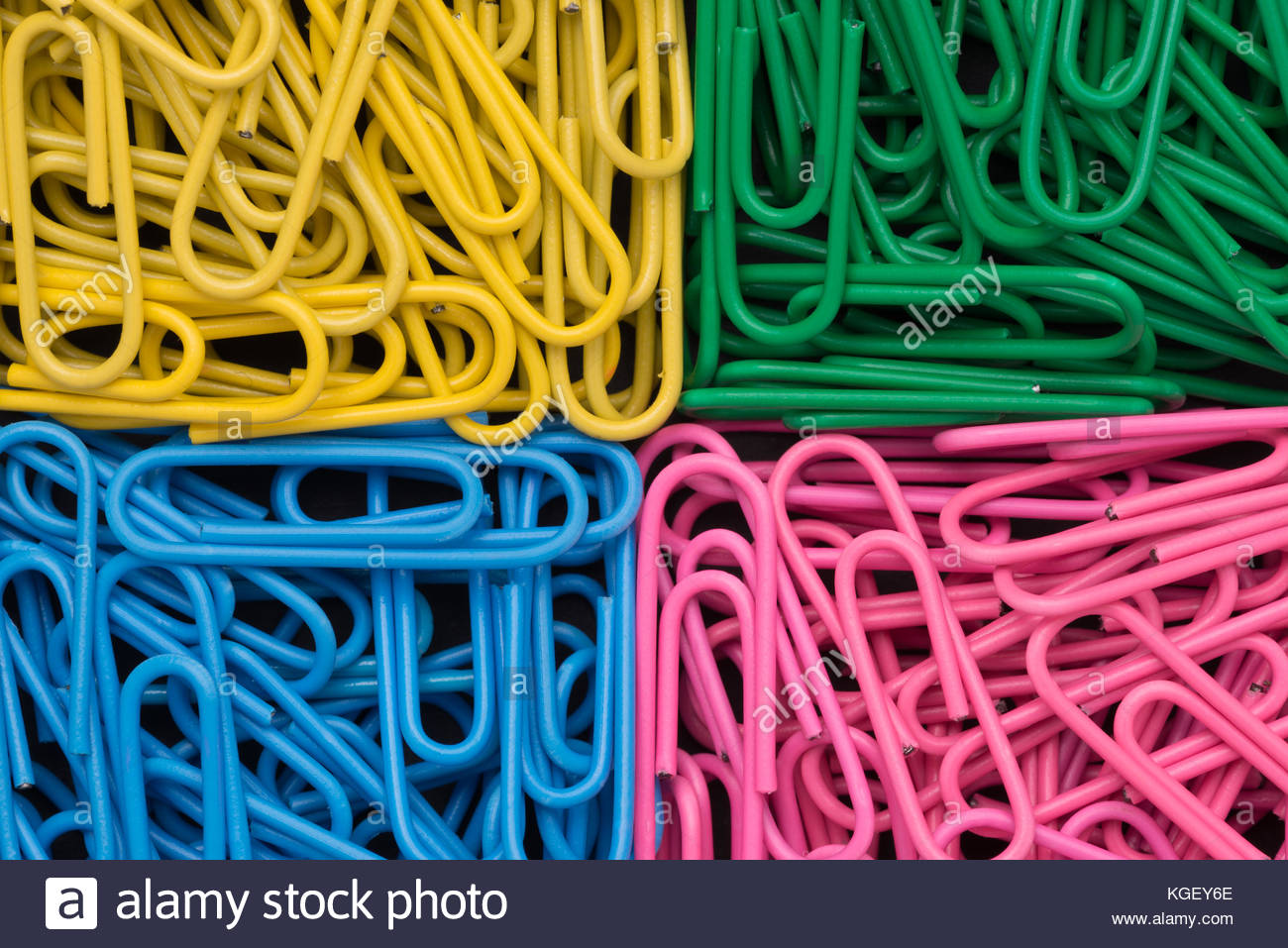 Color clip - Stock Image