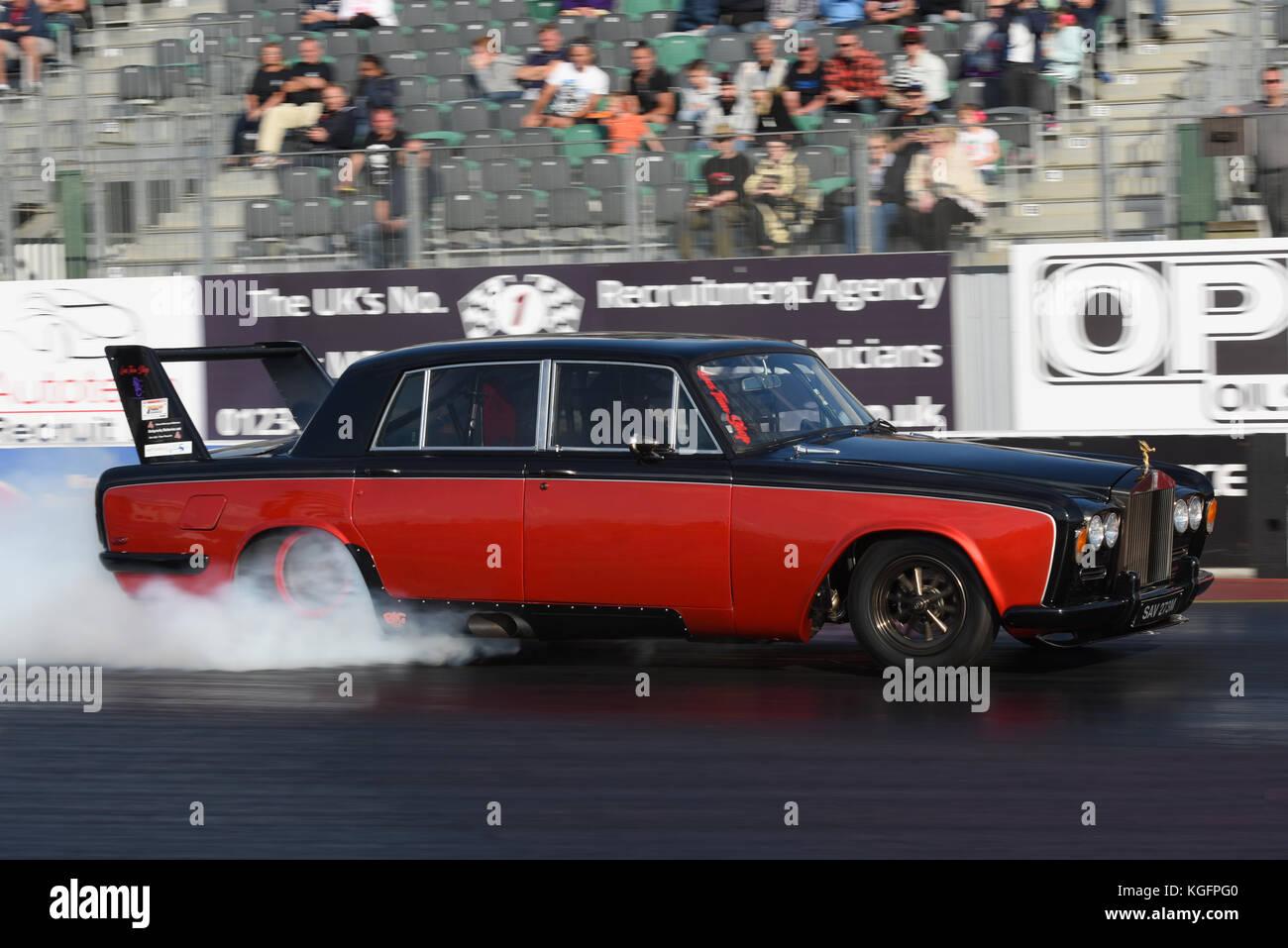 Drag Racing Santa Pod Raceway Stock Photos & Drag Racing