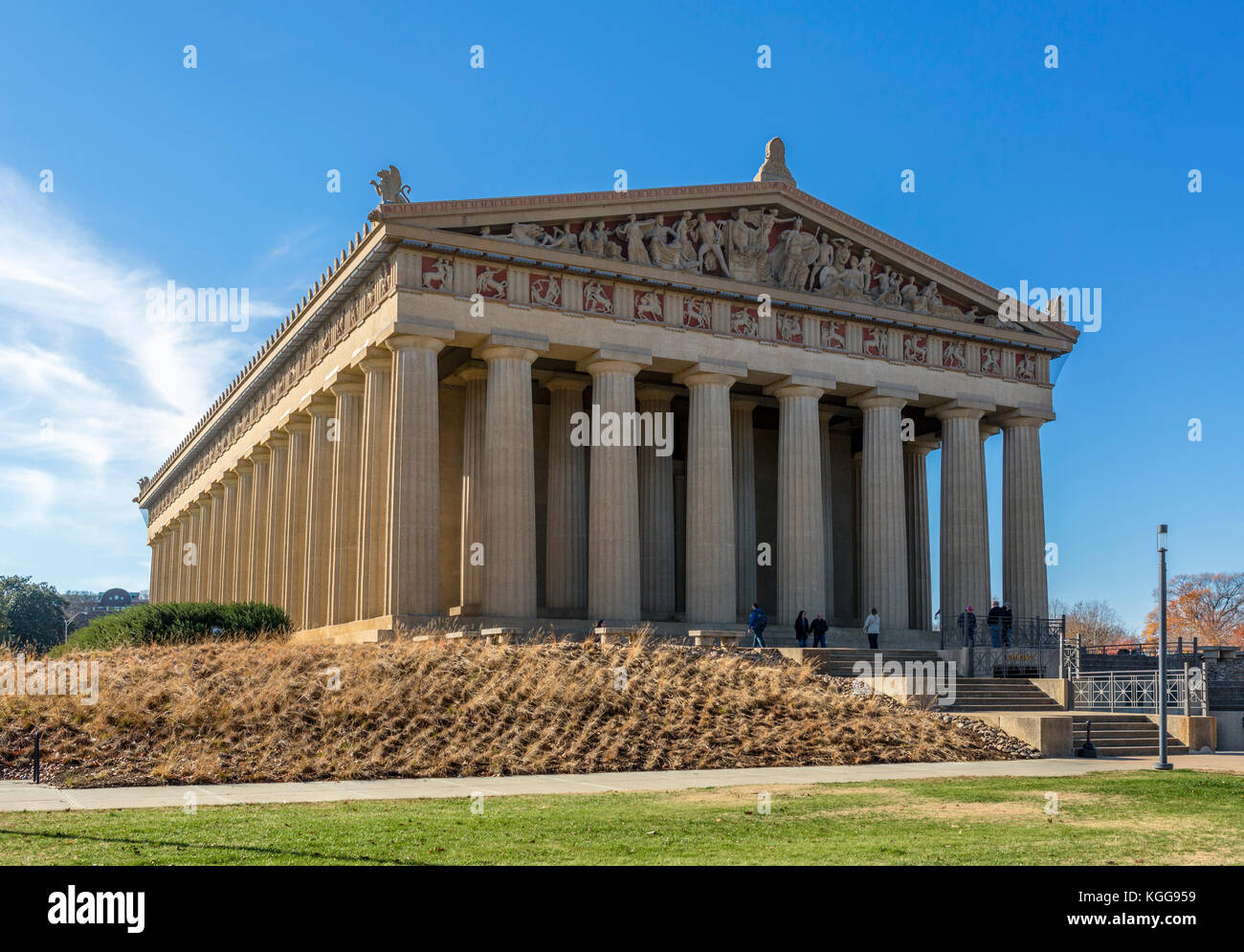 Parthenon, Centennial Park, Nashville,Tennessee, USA. The Parthenon was built in 1897 for the Tennessee Centennial - Stock Image