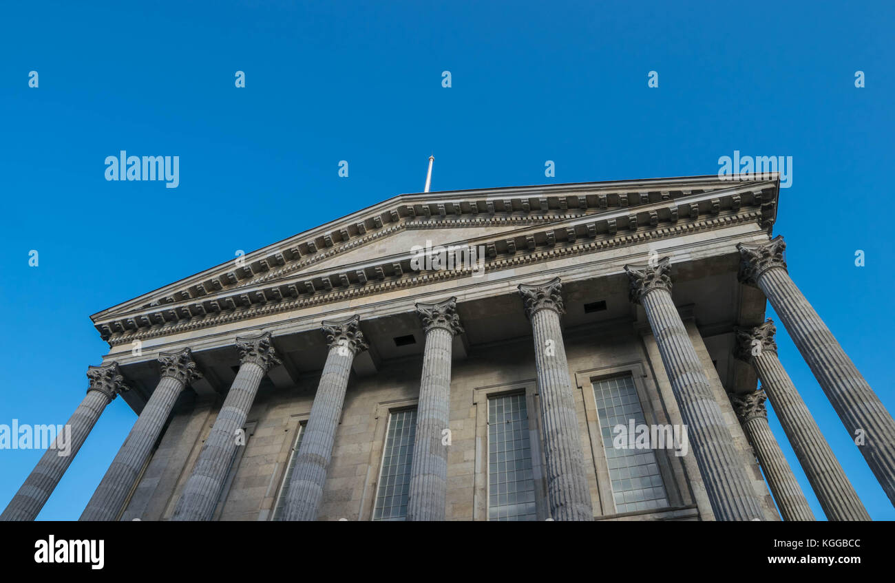 Birminghamm, UK - October 3rd, 2017 : Birmingham town hall - Stock Image