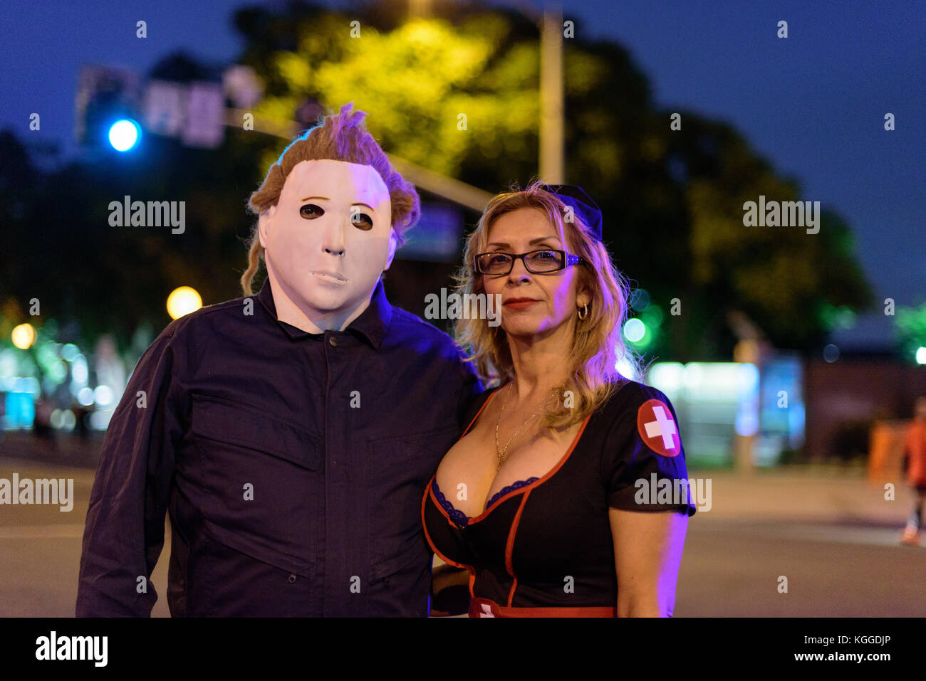 Los Angeles October 31 Halloween Parade In West Hollywood October Stock Photo Alamy
