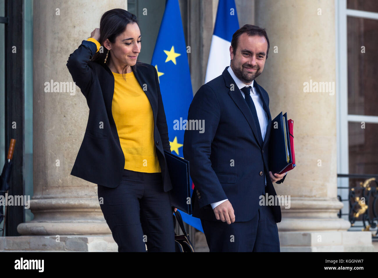 Paul Barlet Le Pictorium Exit Of The Council Of Ministers And