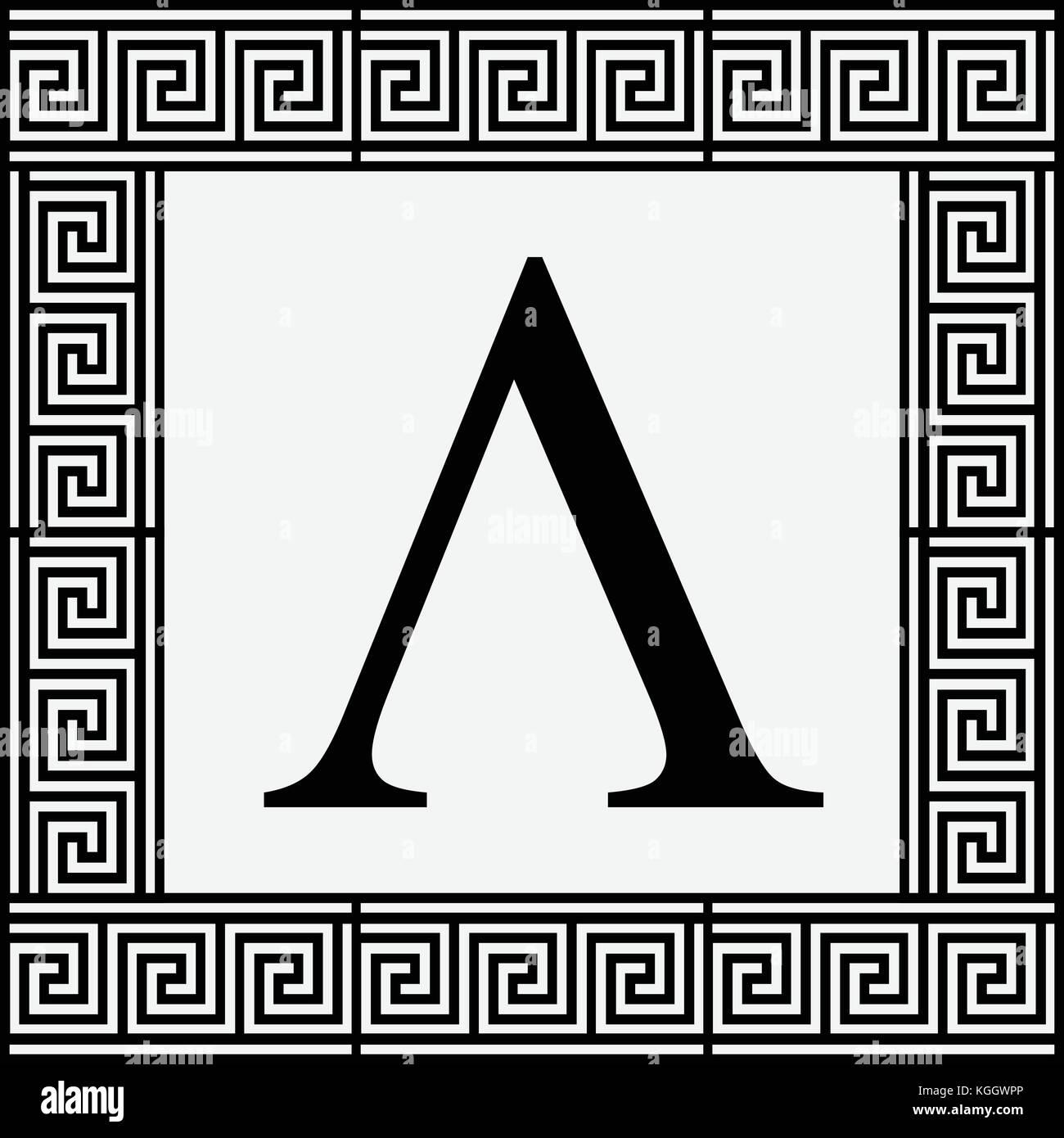 Greek Alphabet In Ancient Greek Stock Photos Greek Alphabet In