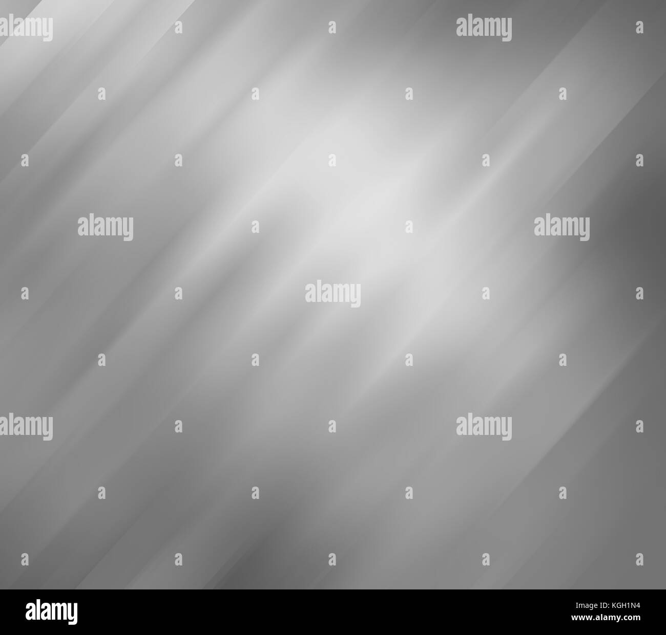 elegant burnished silver background with motion blur texture design, grey or black and white background color - Stock Image