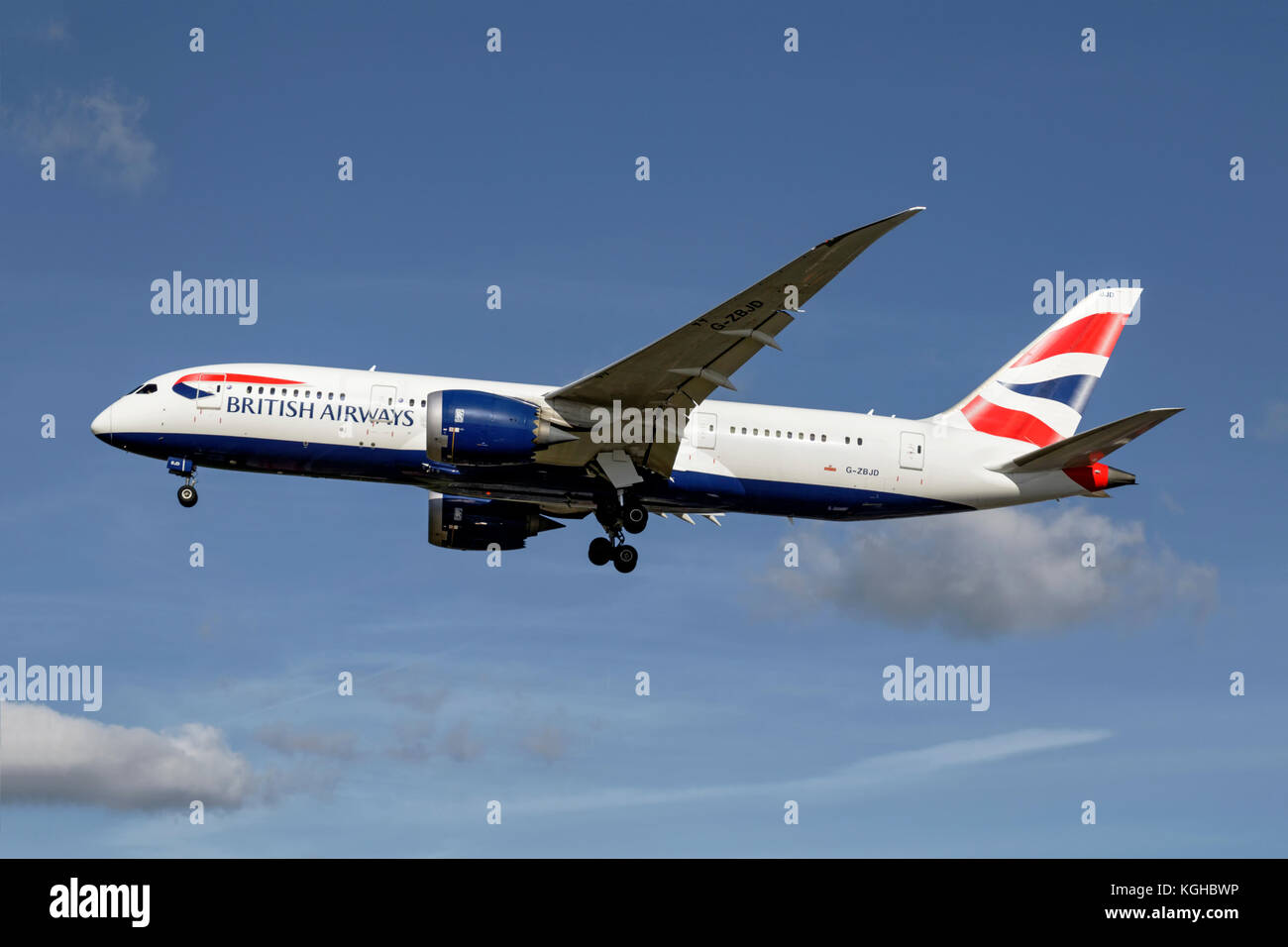 Dreamliner - Stock Image