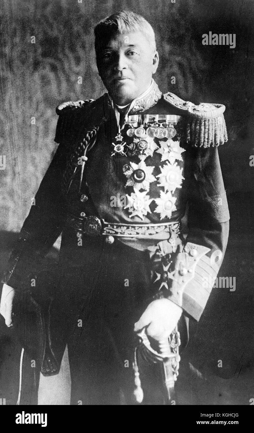 Admiral of the Fleet John Arbuthnot Fisher, British admiral - Stock Image