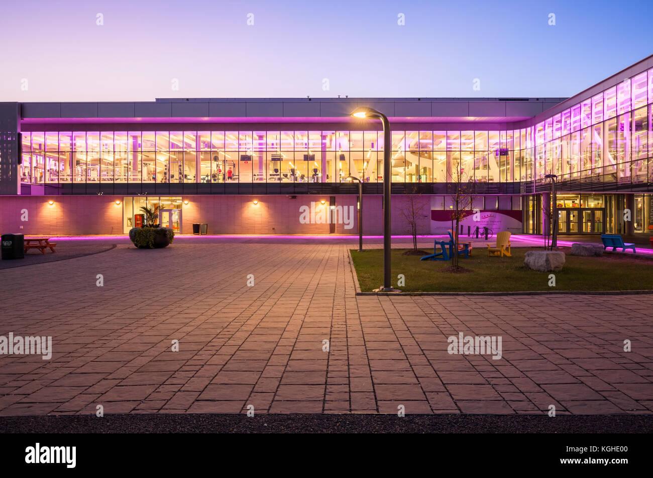 Mohawk College S Fennel Campus At Dusk In Hamilton Ontario Canada Stock Photo Alamy