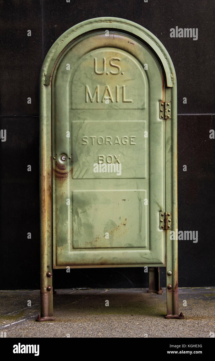 Vintage Us Mailbox High Resolution Stock Photography And Images Alamy
