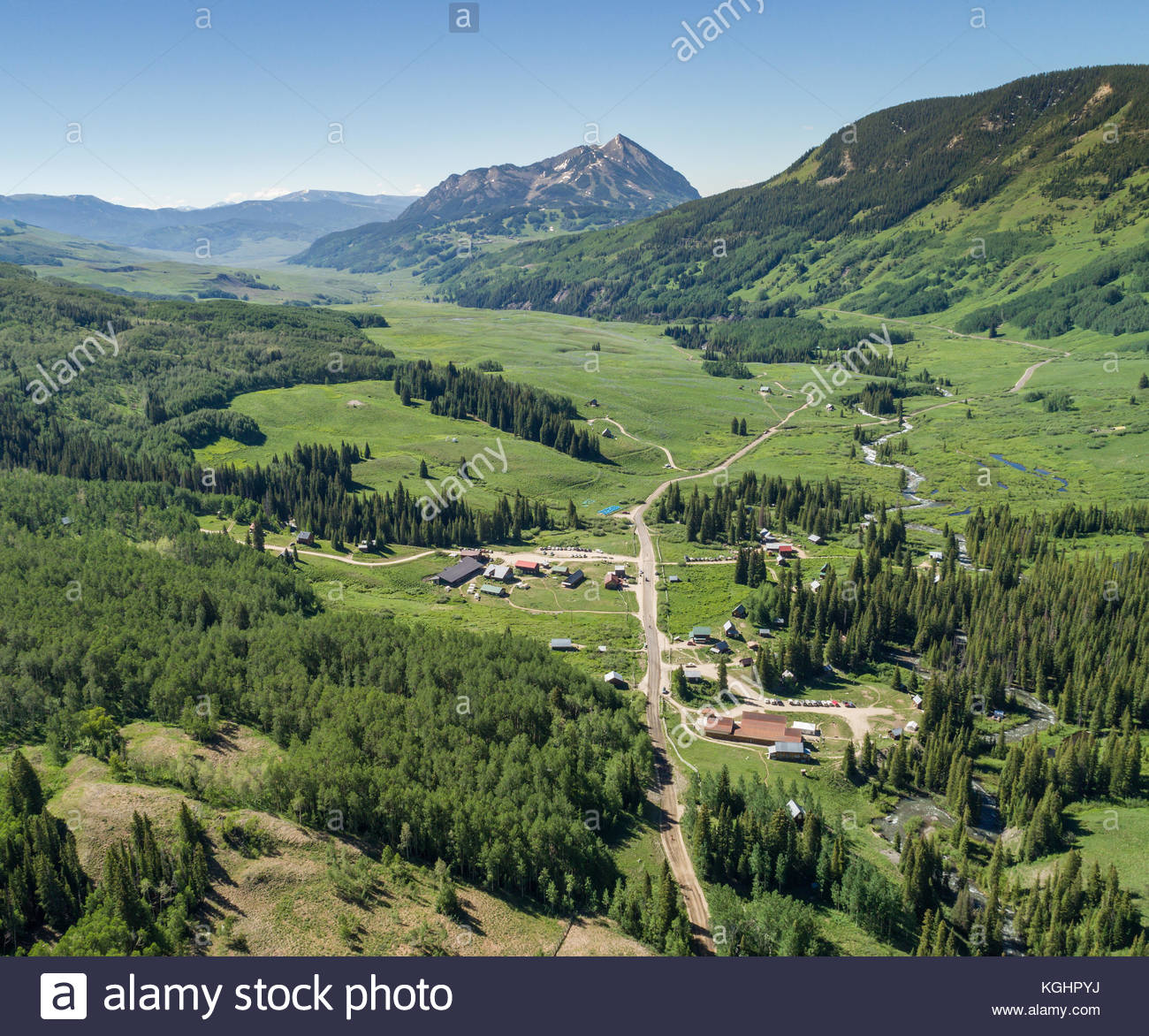 Colorado ghost town stock photos colorado ghost town for Cabins near crested butte co