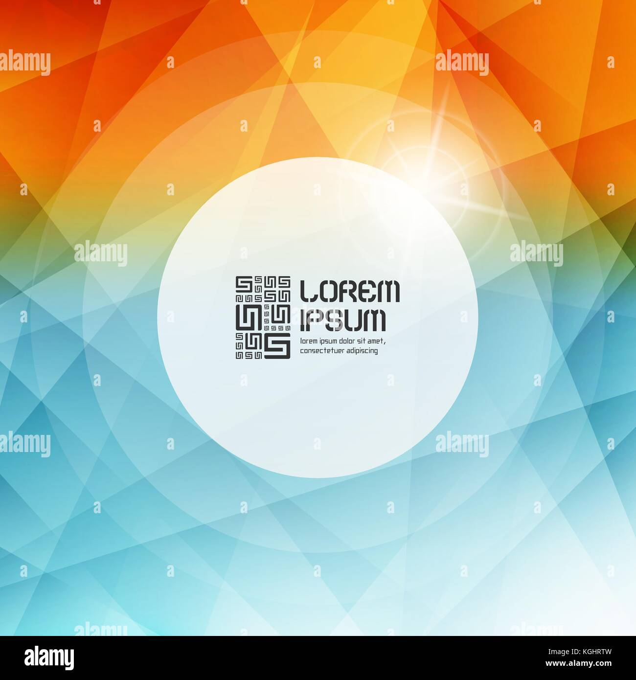 Blurred background. Modern pattern. Vector illustration with place for text. - Stock Vector