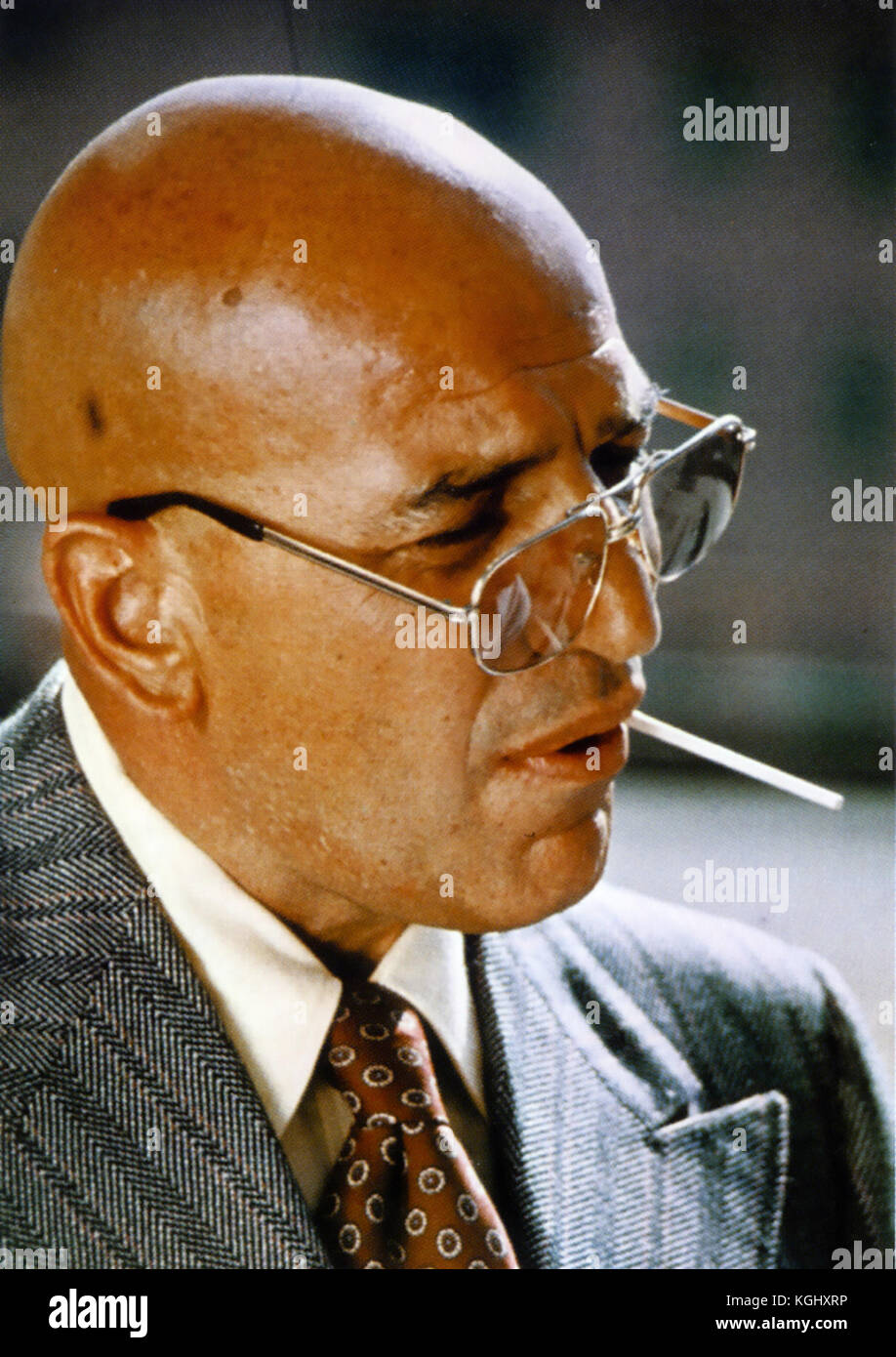 KOJAK CBS/NBC TV series 1973-1978 with Telly Savalas - Stock Image