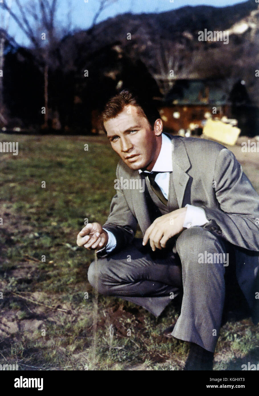 THE INVADERS  American ABC TV sci-fi series 1967-1968 with Roy Thinnes - Stock Image