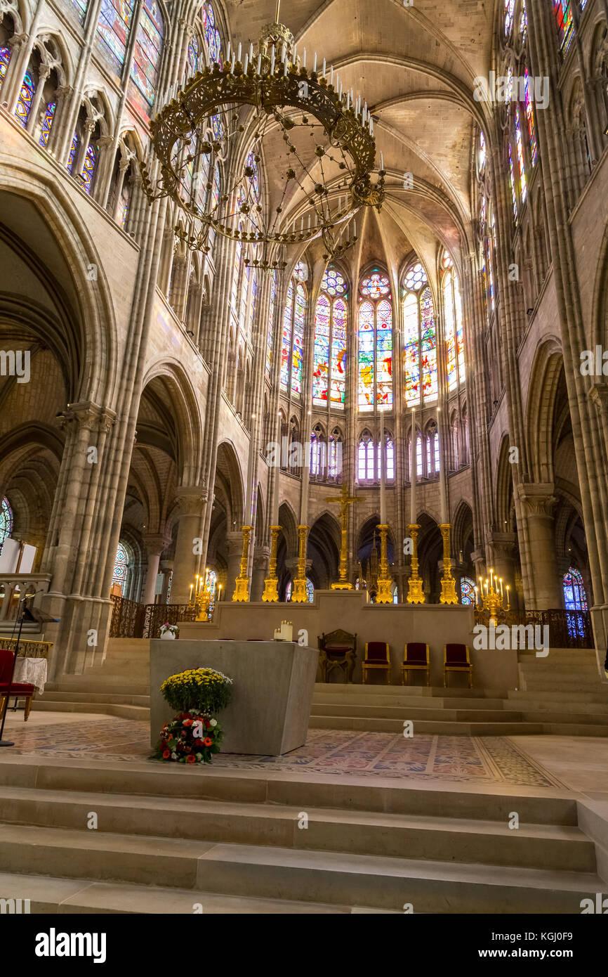 Saint Denis Gard: Saint Denis Basilica Stock Photos & Saint Denis Basilica